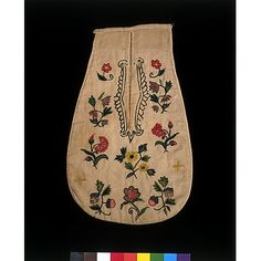 Pocket  Place of origin:England, Great Britain (made)Date:1700-1725 (made)