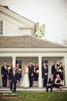 Love this shot of our bridal party...