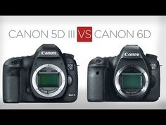 Canon 5D Mark III vs Canon 6D: a sensible buyer's guide. www.motionvfx.com/B3129 #5DMk3 #Canon #6D