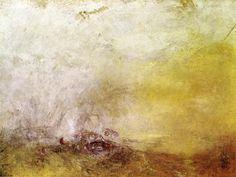 """""""Sunrise with Sea Monsters"""" - JMW Turner"""