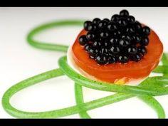 Le caviar de grenadine, la recette de cuisine moléculaire pour les nuls - YouTube
