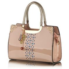 SHARE & Get it FREE | Trendy Openwork and Pandent Design Patent Leather Tote Bag For WomenFor Fashion Lovers only:80,000+ Items·FREE SHIPPING Join Dresslily: Get YOUR $50 NOW!