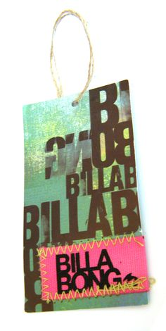 Billabong #hangtag