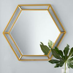 Looking for Kelston Mills Modern & Contemporary Beveled Accent Mirror Willa Arlo Interiors ? Check out our picks for the Kelston Mills Modern & Contemporary Beveled Accent Mirror Willa Arlo Interiors from the popular stores - all in one. Metal Mirror, Round Wall Mirror, Beveled Mirror, Beveled Glass, Octagon Mirror, Unique Mirrors, Beautiful Mirrors, Gold Mirrors, Mirror Crafts