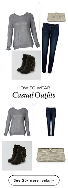 """Cute and casual"" by kaitlyn-huff on Polyvore featuring Anine Bing, American Eagle Outfitters, Monsoon and River Island"