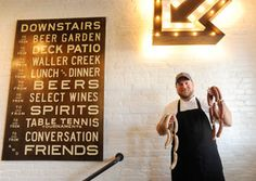 Easy Tiger, Austin: This beer garden-bakery is the newest project from former Top Chef competitor Andrew Curren