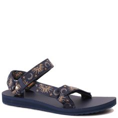 a8cf9bc04f37 Teva Women s Original Universal Sandal in Sun and Moon Insignia Blue