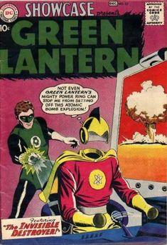 SHOWCASE 23 GREEN LANTERN SILVER AGE DC COMICS