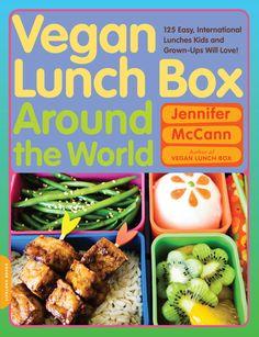 cover of Vegan Lunch Box Around the World