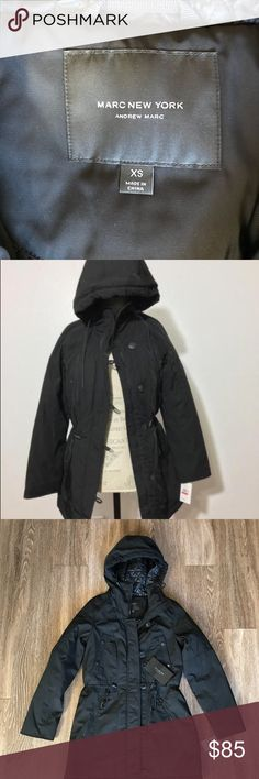 XS Marc New York womens black Jacket Brand new with tags!  Marc New York in known for their high quality high fashion items!   Feel free to check out my closet for more great deals! marc new york Jackets & Coats