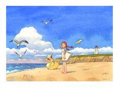Anna e Diana Manga Anime, Anime Art, Anne Shirley, Studio Ghibli, Fairy Tales, Concept Art, Anna, Cartoon, Drawings