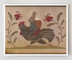 Springtime Social  counted cross stitch by thecottageneedle, $9.00