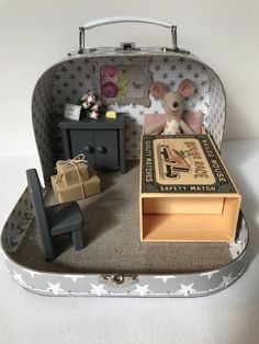 A personal favourite from my Etsy shop https://www.etsy.com/uk/listing/516830308/maileg-mouse-house