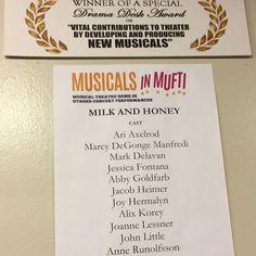 #milkandhoney #musicalsinmufti  #yorktheatercompany