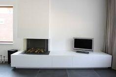 Afbeeldingsresultaat voor inbouwhaard met tv