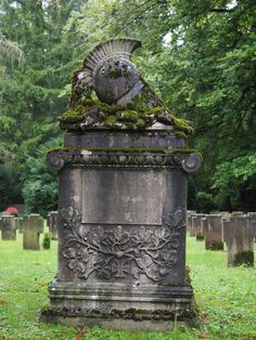 dark, cemetery, tombstone, grave, headstone, gloomy