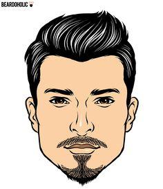 The Van Dyke goatee beard style