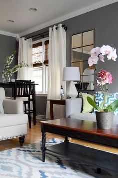 Sister's Living Room Before & After | Go Haus Go – A DIY and Design Blog by Emily May