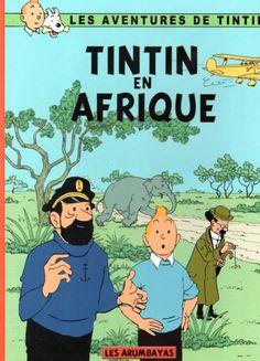 Couverture de Tintin - Pastiches, parodies & pirates - Tintin en Afrique