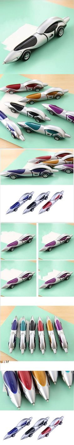 New Super Cool Plastic Car Ballpoint Pen Novelty Ball Pen Creative Items Products Gift School Office Stationery