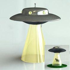 ufo lamp, awesom thing, lamp idea, abduct lamp, random stuff