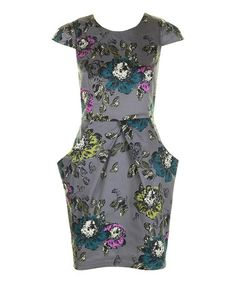 Take a look at this Charcoal Poppie Dress by Darling on #zulily today!40