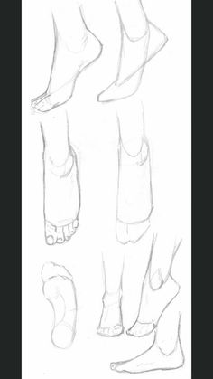 Anatomy Drawing Tutorial A small collection of feet tutorials :) Hope you like it! Pencil Art Drawings, Art Drawings Sketches, Horse Drawings, Drawing Techniques, Drawing Tips, Feet Drawing, Drawing Ideas, Anime Drawing Tutorials, Drawing Body Poses