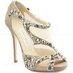 Jimmy Choo Quinze Embellished Sandals