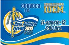 Este domingo : Ruta atletica IUEM 2013  http://www.entusmarcas.com.mx/index.php/eventsetm?view=event%3Bid=541