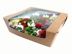 Salad Box  /  #packaging