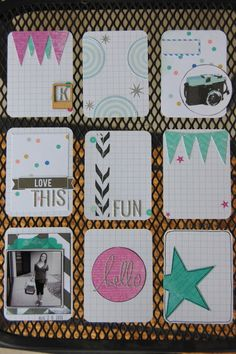 Technique Tuesday Project Life Cards                                                                                                                                                                                 More