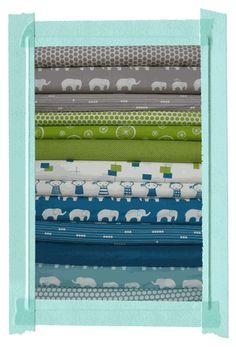 Fabricworm Custom Coordinated Quilt Bundles - my favorite