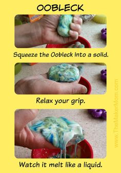 Big Hero 6 Science Fun Inspired by Honey Lemon and GoGo. Make oobleck with www.themakermom.com