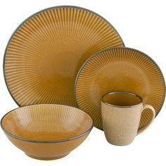 Corona Gold 16-piece Dinnerware Set