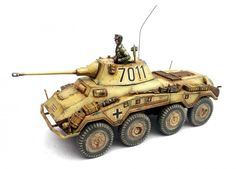 Warlord Games Bolt Action 28mm SDKFZ 234/2 PUMA