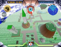 Jumping Flash, for the original Playstation, is one of the only first person platform games.