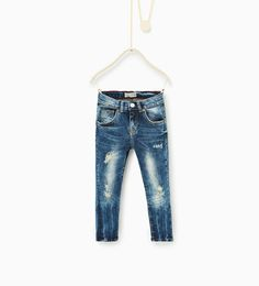Ripped jeans-JEANS-BOY | 4 - 14 years-KIDS | ZARA Hungary