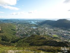 View From Ulriken - Bergen, Norway