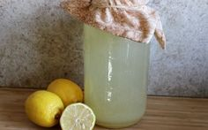 Fermented Lemonade - It Takes Time Add fruit bits for flavor.