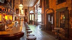 Father's Day Festivities: The Coolest LA Bars with Awesome Décor to Share a Drink with Dad, Laurel & Wolf, sassafras-saloon-bar-hollywood