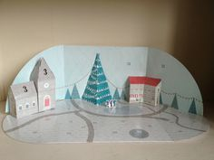 Build a town advent calendar day 4