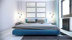 simple modern bedroom decor