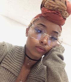 What are you guys up to this Thanksgiving? I'm of course thankful for all of u! Currently making some oxtails 😋She's wearing her ''Rust''… Style Turban, Mode Turban, Curly Hair Styles, Natural Hair Styles, Big Chop Natural Hair, Head Band, Pelo Afro, Black Girls Hairstyles, American Hairstyles