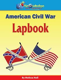American Civil War Lapbook  $3.00-$24.29 The American Civil War or the War Between the States, fought from 1861 to 1865 had its origins in the issue of slavery.  Learn all about this time in history as you create a 4-folder lapbook.  Study Guide included! http://www.theoldschoolhouse.com/product/american-civil-war-lapbook/