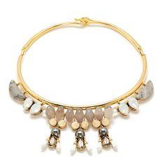 J.Crew - Statement stone collar necklace