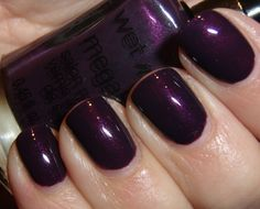 "Obsessive Cosmetic Hoarders Unite!: Wet N Wild Megalast Nail Polish ""Disturbia"" Pictures"