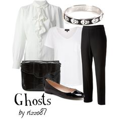"""Ghosts"" by rizzo87 on Polyvore"