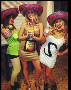 Tequila Salt and Lime Halloween costume