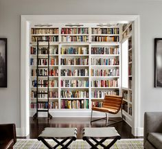 Home Library Bookshelves Luxury 35 Stunning Home Libraries For The Perfect Quiet Moment Home Library Design, House Design, Library Ideas, Library Inspiration, Modern Library, Home Library Decor, Bookshelf Inspiration, Design Inspiration, Library Decorations