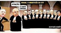 Renan: não pode nem sai de cima, por José Ribamar Bessa Freire | Renan, já declarado réu, tem uma senhora folha corrida. É alvo de outros onze inquéritos e pode se tornar réu mais onze vezes, com lavagem de dinheiro, corrupção passiva e propinas vazando de diferentes órgãos e empresas: Diretoria de Abastecimento da Petrobras, Usina Angra 3, Transpetro, Conselho Administrativo de Recursos Fiscais (CARF) e Belo Monte.